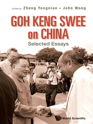 cover image of Goh Keng Swee On China