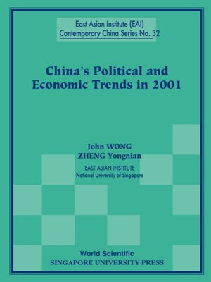 cover image of China's Political and Economic Trends In 2001