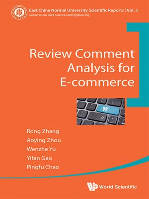 cover image of Review Comment Analysis For E-commerce