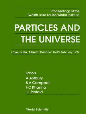 cover image of Particles and the Universe