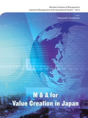 cover image of M&a For Value Creation In Japan