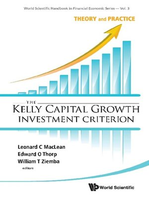 cover image of The Kelly Capital Growth Investment Criterion