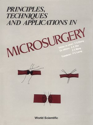 cover image of Principles, Techniques and Applications In Microsurgery
