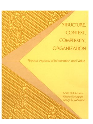 cover image of Structure, Context, Complexity, Organization