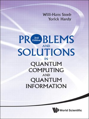 cover image of Problems and Solutions In Quantum Computing and Quantum Information ()