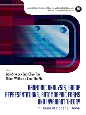 cover image of Harmonic Analysis, Group Representations, Automorphic Forms and Invariant Theory