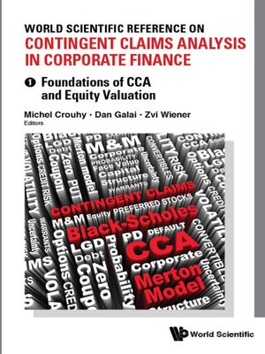 cover image of World Scientific Reference On Contingent Claims Analysis In Corporate Finance (In 4 Volumes)