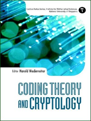 cover image of Coding Theory and Cryptology