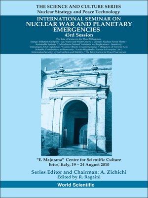 cover image of International Seminar On Nuclear War and Planetary Emergencies--43rd Session
