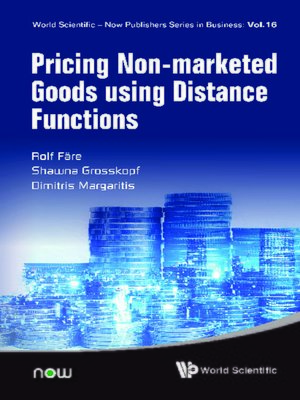 cover image of Pricing Non-marketed Goods Using Distance Functions