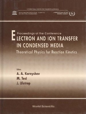 cover image of Electron and Ion Transfer In Condensed Media