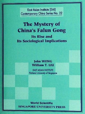 cover image of The Mystery of China's Falun Gong