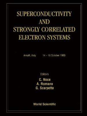 cover image of Superconductivity and Strongly Correlated Electron Systems