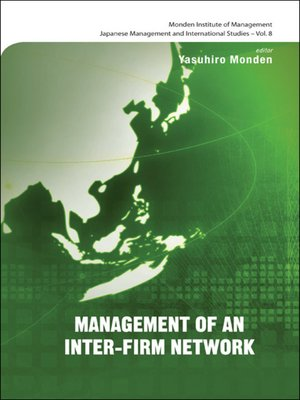 cover image of Management of an Inter-firm Network