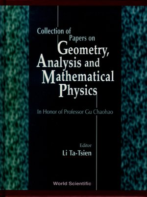 cover image of Collection of Papers On Geometry, Analysis and Mathematical Physics