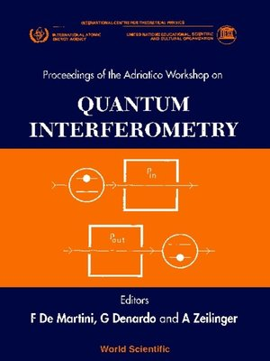 cover image of Quantum Interferometry--Proceedings of the Adrratico Conferencer