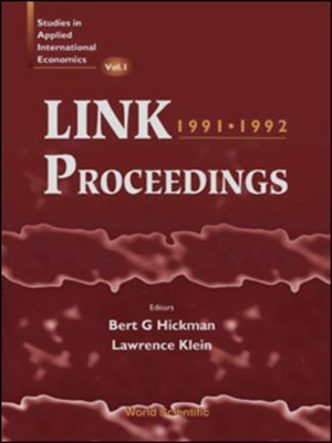 cover image of Link Proceedings 1991, 1992