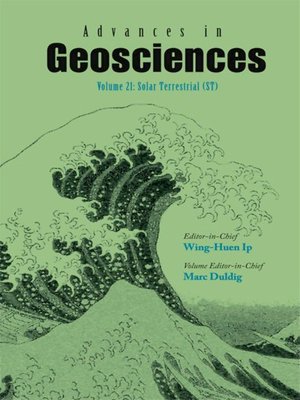 cover image of Advances In Geosciences (A 6-volume Set)--Volume 21