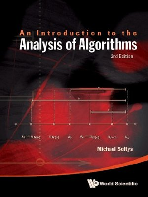 cover image of An Introduction to the Analysis of Algorithms
