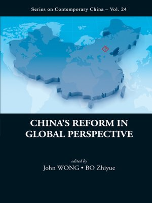 cover image of China's Reform In Global Perspective