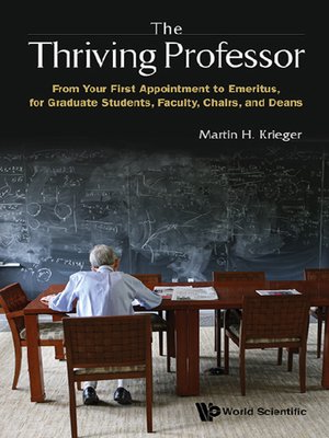 cover image of The Thriving Professor