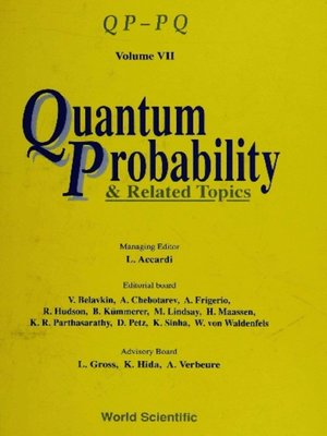 cover image of Quantum Probability and Related Topics