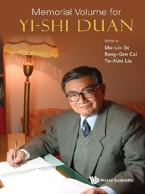 cover image of Memorial Volume For Yi-shi Duan