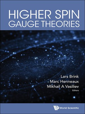 cover image of Higher Spin Gauge Theories