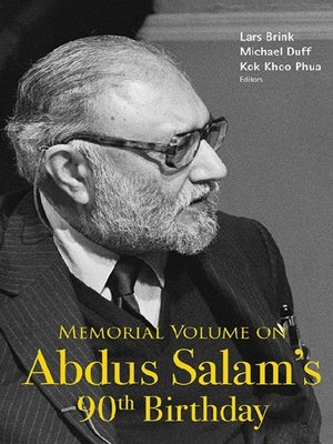 cover image of Memorial Volume On Abdus Salam's 90th Birthday