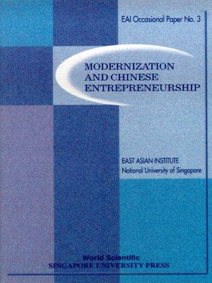 cover image of Modernization and Chinese Entrepreneurship