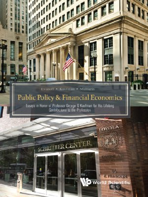 cover image of Public Policy & Financial Economics