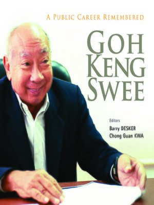 cover image of Goh Keng Swee