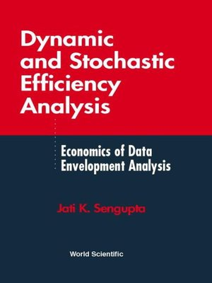 cover image of Dynamic and Stochastic Efficiency Analysis