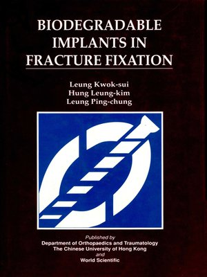 cover image of Biodegradable Implants In Fracture Fixation