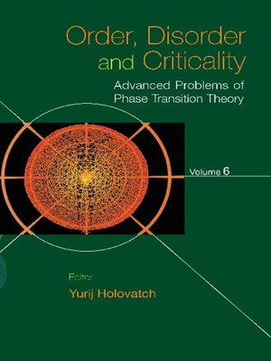 cover image of Order, Disorder and Criticality