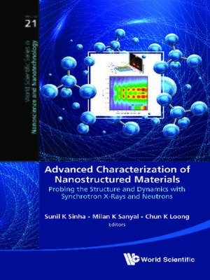 cover image of Advanced Characterization of Nanostructured Materials