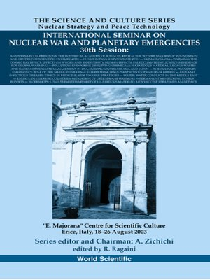 cover image of International Seminar On Nuclear War and Planetary Emergencies--30th Session