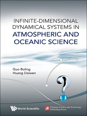 cover image of Infinite-Dimensional Dynamical Systems in Atmospheric and Oceanic Science