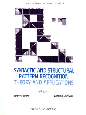 cover image of Syntactic and Structural Pattern Recognition--Theory and Applications