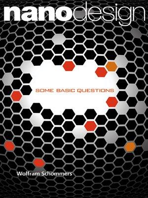 cover image of Nanodesign