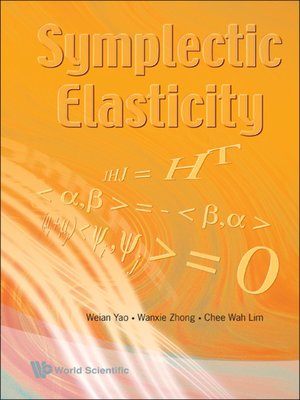 cover image of Symplectic Elasticity