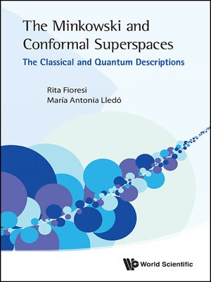 cover image of The Minkowski and Conformal Superspaces