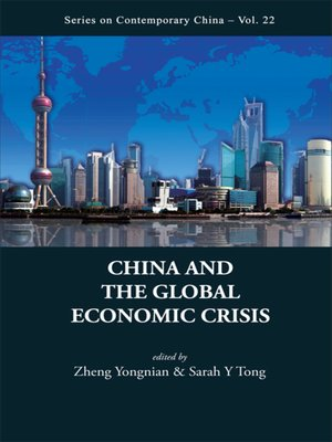 cover image of China and the Global Economic Crisis