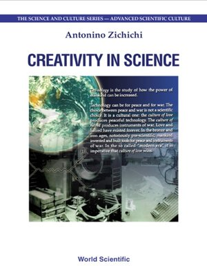 cover image of Creativity In Science, Procs of the 6th International Zermatt Symposium