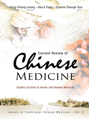 cover image of Current Review of Chinese Medicine
