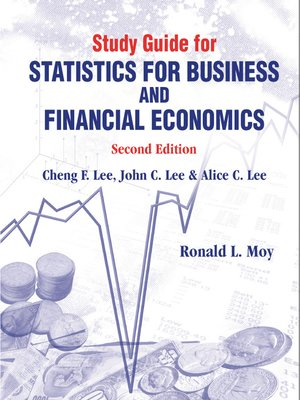 cover image of Study Guide For Statistics For Business and Financial Economics