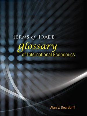 cover image of Terms of Trade