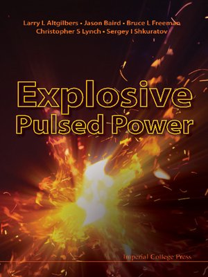 cover image of Explosive Pulsed Power