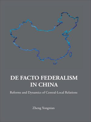 cover image of De Facto Federalism In China