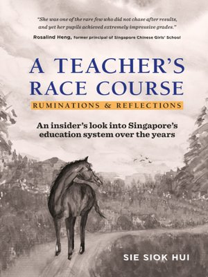 cover image of A Teacher's Race Course
